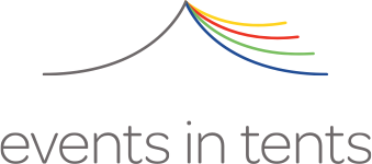 events in tents Logo