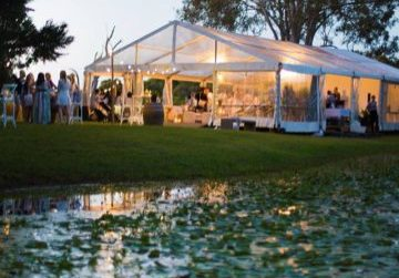 Clear marquee hire, outdoor event, outdoor wedding, Brisbane, Queensland, Sunshine Coast, Gold Coast